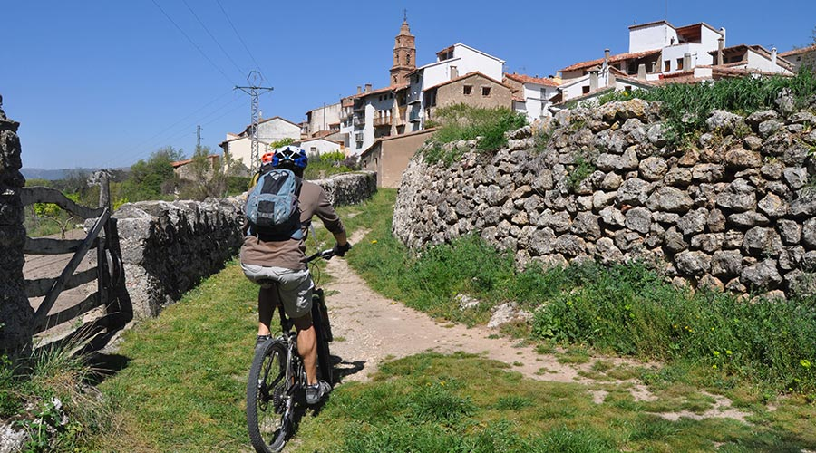 MTB route from Morella to Xiva