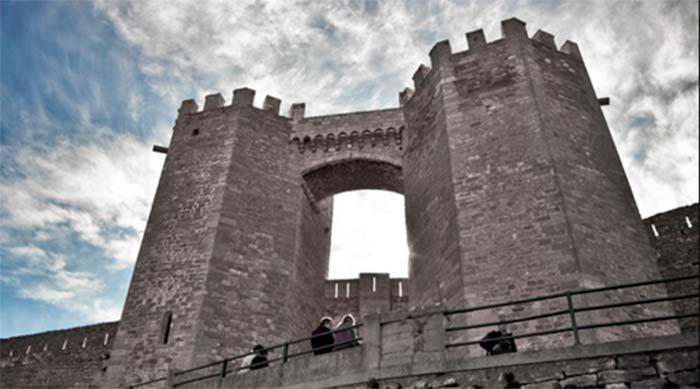 Torres de San Miguel del castillo de Morella