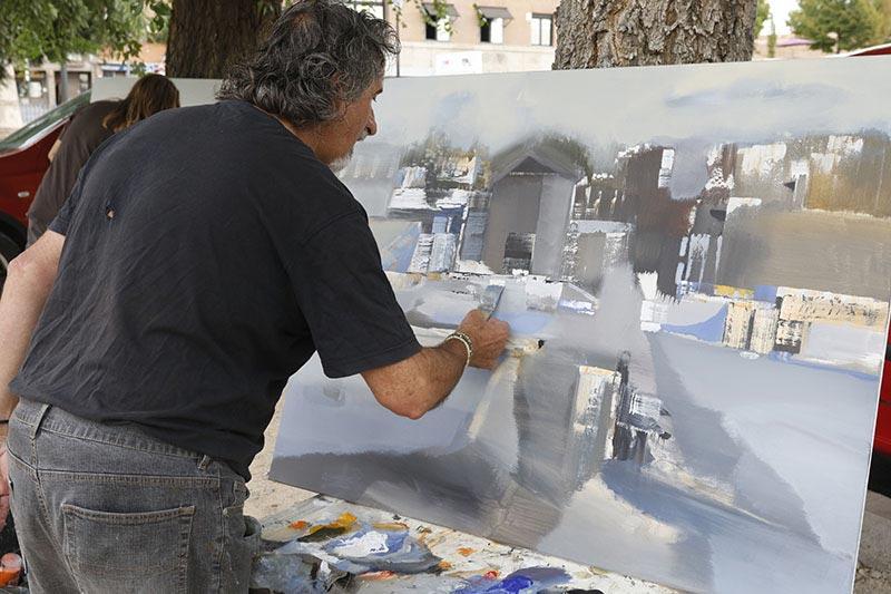 Concurso de pintura rápida LIna Font en Begues