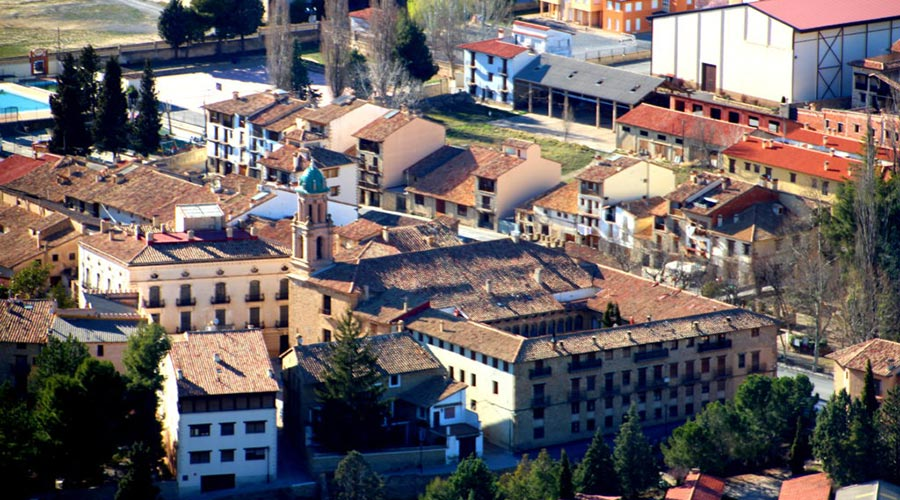 Vista panorámica del convento de los Carmelitas calzados