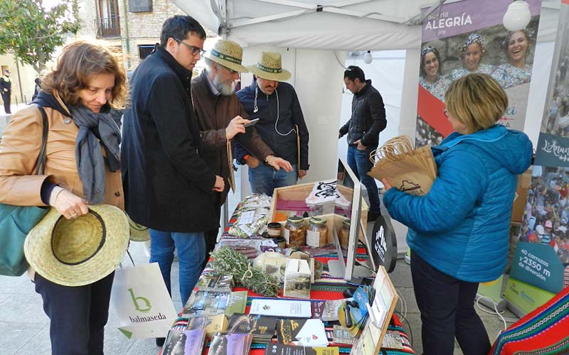 Feria de municipios Cittaslow en Begur