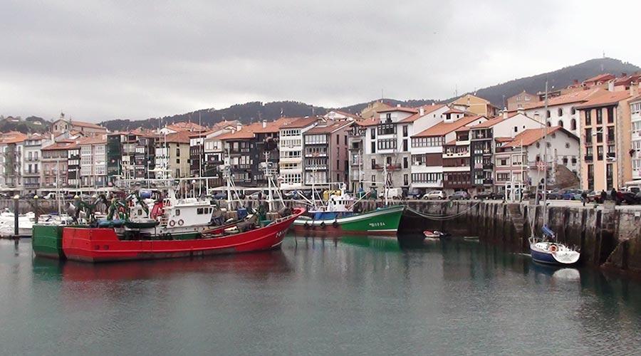 Puerto pesquero de Lekeitio