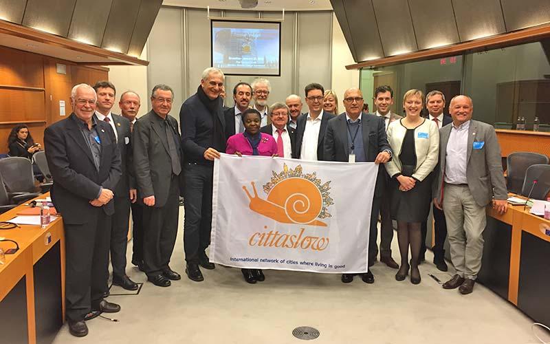 Cittaslow en el Parlamento Europeo