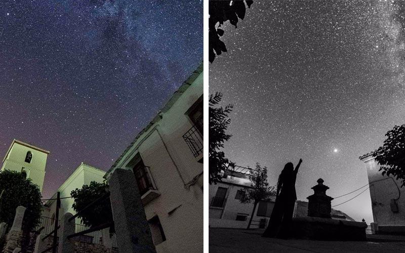 Cielo estrellado en Bubión