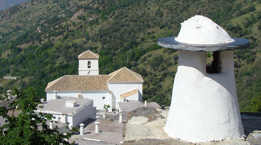 Typical chimney in Bubión