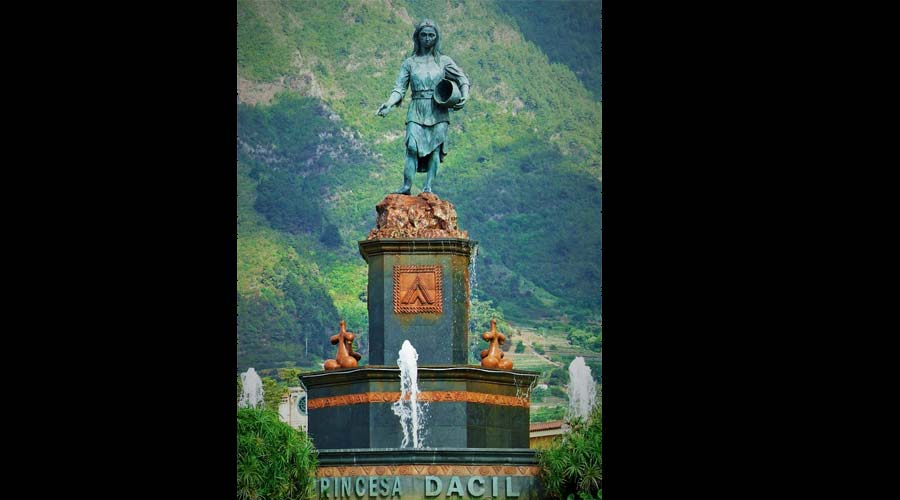 Monument to Princess Dacil