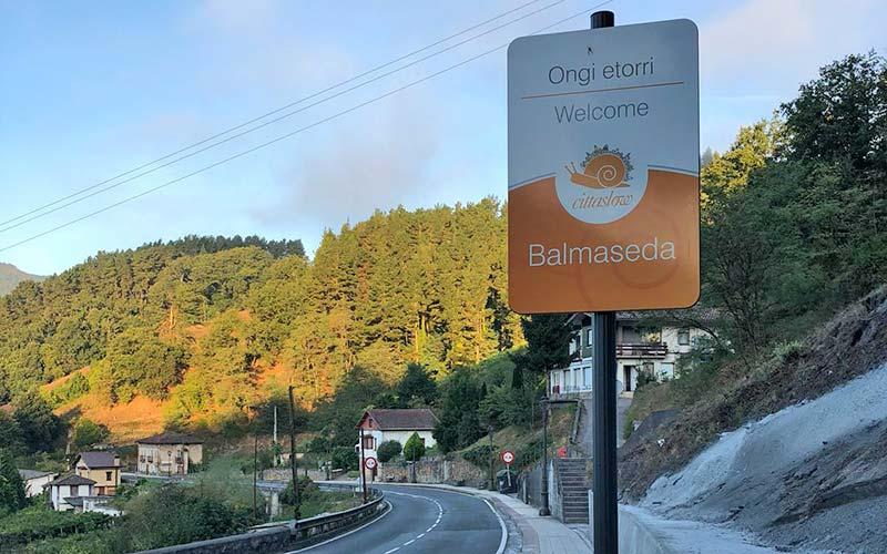 Nuevos carteles de bienvenida en Balmaseda