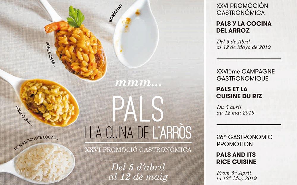 XXV Promoción gastronómica de Pals y la cocina del arroz