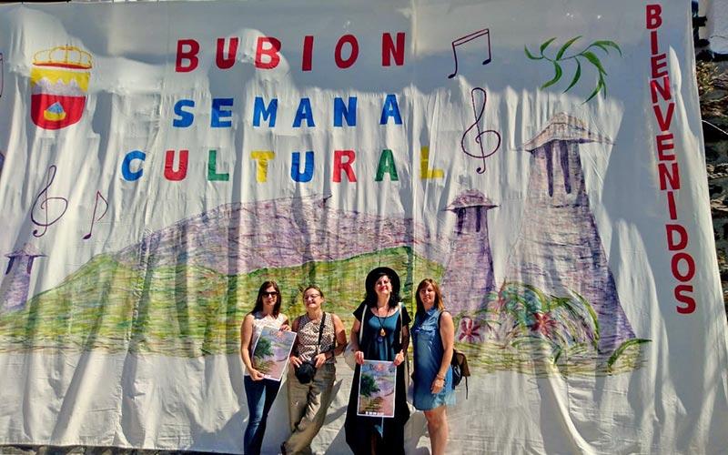 Presentación de la XVI semana cultural de Bubión