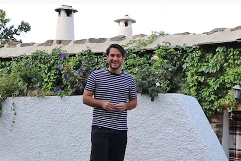 Sergio Pérez en Bubión