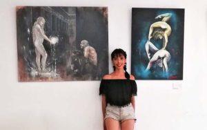 """Exposición de pintura """"Un mucho"""" en Bubión"""