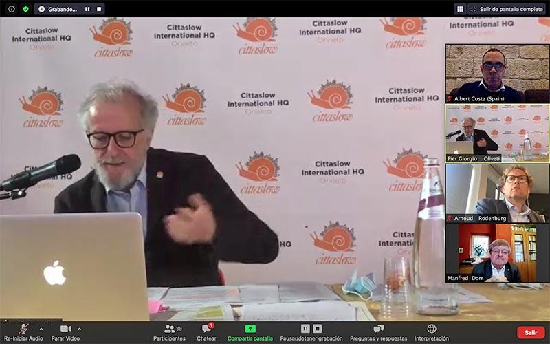 Comité Internacional Cittaslow 2020